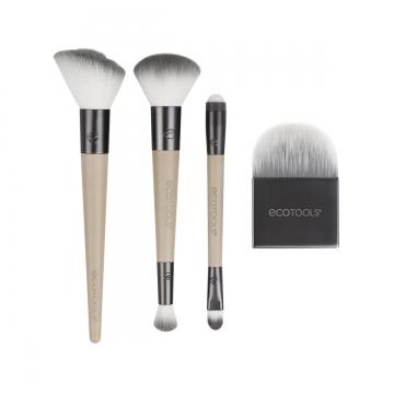 EcoTools Love Your Skin  makiyaj üçün3636 fırça dəsti